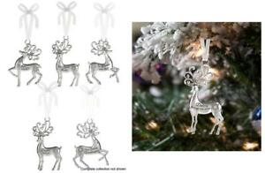 Ganz H7 Christmas Holiday Merry Reindeer Ornament W/ Sparkle Crystals EX16660