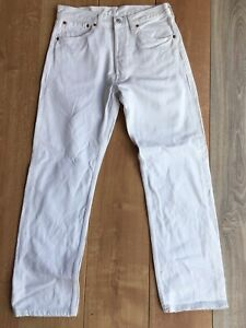 Levi's 501(0651) W32L30 Ancienne Coupe Mid 90's Made In USA 41 Fr Blanc