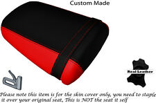 Negro Y Rojo Custom encaja Kawasaki Zx9r Ninja Zx 9r 900 02-04 trasera cubierta de asiento