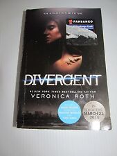 Divergent Book by Veronica Roth Paperback