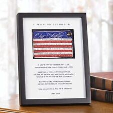 Soldier's Prayer Shadow Box - New in Box