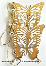 JOLEE'S BOUTIQUE 3-D CRAFT EMBELLISHMENTS BUTTERFLY SILHOUETTE DIE-CUT TAGS