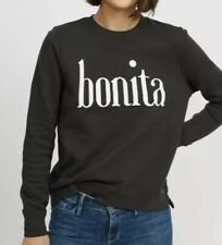 2e2f00b81 New ListingSol Angeles Bonita Black Graphic Black Sweatshirt New XS Extra  small