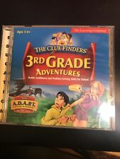 The Learning Company ClueFinders 3rd Grade for Pc, Mac