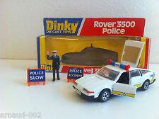 Dinky Toys - 264 - Rover 3500 Police avec policier et panneaux