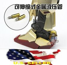 Metal Armor Detail Up Gold metal hydraulic tubes Sazabi ver Ka V Gundam Mg Usa