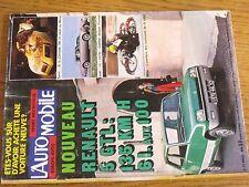 $$$ Revue L'automobile N°357 Renault 5 GTLCorvette 700ch MansCadillac