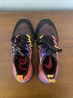 Nike Epic React Flyknit 2 Women's 6.5 Black Ember Glow CK0818-001