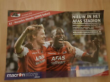 AZ Alkmaar v Heracles Almelo 22-03-2012 KNVB paper hand clapper / voetbalklapper