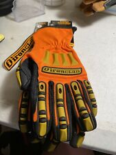 Ironclad Gloves Sdx2 Kong Original Mechanics Oil And Gas Orange Medium