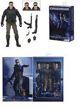 """NECA Terminator Ultimate T-800 estación de policía asalto (Arnie) 7"""" Figura De Acción"""