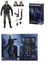 "Neca Terminator último asalto T-800 estación de policía (Arnie) 7"" Figura De Acción"