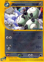 1x - Magneton - 20/144 - Rare LP Pokemon Skyridge