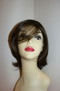 raquel welch synthetic hair wig embrace average RL6/8 DARK CHOCOLATE layered