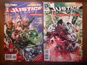 Lot Of 17 Justice League DC Comics New 52 2011-2015