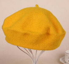 Womens Sweet Solid Warm Wool Winter Beret French Artist Beanie Hat Ski Cap Hats