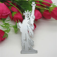 Statue Of Liberty Metal Cutting Dies Stencil Scrapbooking Paper Embossing Craft