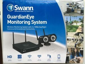 SWANN GUARDIANEYE SWNVW-GUAEYE SECURITY SYSTEM DVR 1080p DAY NIGHT 840236115006