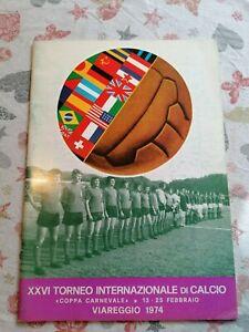 XXVI FOOTBALL TOURNAMENT VIAREGGIO 1974, PROGRAMME