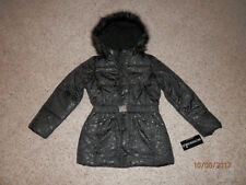 GIRLS ROTHSCHILD WINTER COAT SIZE XL 16 NWT'S BELTED FLORAL PRINT