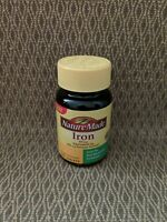 Nature Made Iron Vitamins 65 mg 180 Tablets Exp. 8/2021 or better