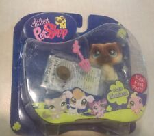 Littlest Pet Shop Messiest Pug 623 Real Feel Pet with Poop Rare & VHTF 2007 New