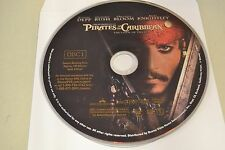 Pirates of the Caribbean Curse of the Black Pearl (DVD, 2003, 1-Disc)Disc only