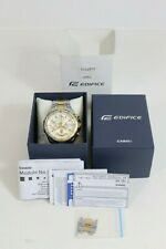 Casio Edifice  EFR-539 DY Mens Two Tone Stainless Steel Watch