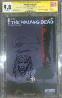 Walking Dead #193 SDCC_CGC 9.8 SS_Last Issue - Signed by Kirkman Adlard (sketch)