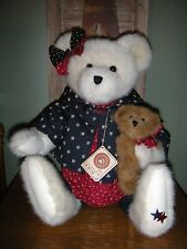 """Boyds Bears PLUSH 2002   ~16"""" STARR B. BEARYPROUD WITH SPARKLE~    STYLE #912016"""