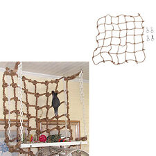 Parrot Birds Climbing Net Jungle Fever Rope Small Animals Toys FO