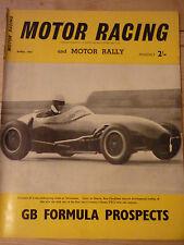 Motor Racing - BRSCC journal - magazine - April 1957