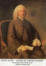 OLD POSTCARD - Ralph Allan - Postmaster of Bath - Portrait - Copyright Post Off