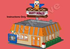 LEGO Simpson – KRUSTY BURGER - INSTRUCTION PDF UNIQUEMENT - CD