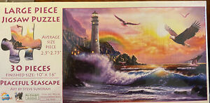 Peaceful Seascape 30 Piece Jigsaw Puzzle by SunsOut  New
