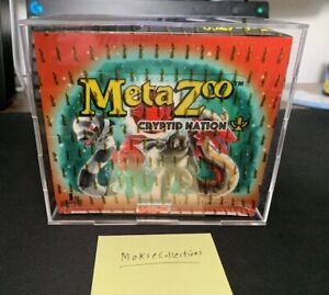 MetaZoo First Edition Booster Box Display Case | Acrylic Display Great Fit