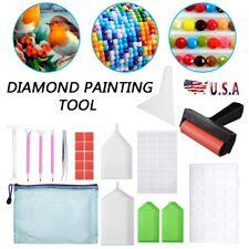 5D DIY Diamond Painting Art Cross Stitch Tool Kits Accessories Embroidery 63pcs