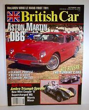 British Car Magazine October 1995 Aston Martin MG Triumph Morris Minor