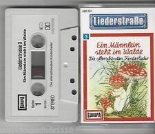 Liederstraße - Folge 3- MC - Europa Ein Männlein steht im Walde