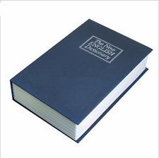SECRET DICTIONARY BOOK SAFE SECURITY KEY LOCK MONEY CASH JEWELLERY BOX