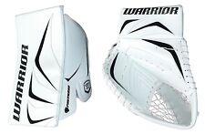 New Warrior Fortress Pro Sr goalie blocker/catcher ice hockey glove white/black