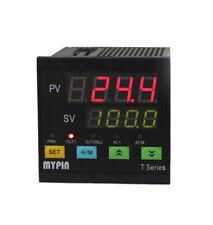 Dual Digital Display PID Temperature Controller SSR Pt100 and Solid State Relay Ssr-25da 250v 25a