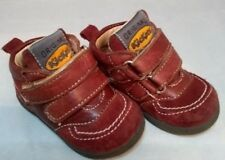 Kickers Kids Infants Pirahi Leather Boots Red Black RRP £50