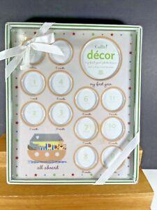 NEW CUDLIE! DECOR My First Year Photo 13 Window Frame Baby Decoration