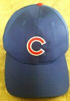 MLB ~ CHICAGO CUBS ~ Genuine Merch. Blue Ball Cap Hat ~ Snap Back Baseball OS