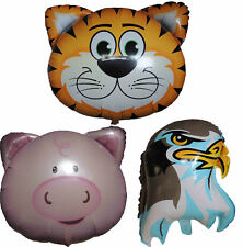 TIGER PIG EAGLE BALLOON JUNGLE ANIMAL ZOO BABY SHOWER BIRTHDAY PARTY DECOR GIFT