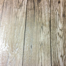 Wood Effect Wallpaper Distressed Wooden Grain Loft Wood Natural Metallic Gold