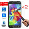 2x 9H Tempered Glass Film Screen Protector Cover For Samsung Galaxy J 1 2 3 5 7