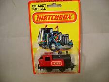 1980 MATCHBOX LESNEY SUPERFAST #43 STEAM LOCOMOTIVE MOC