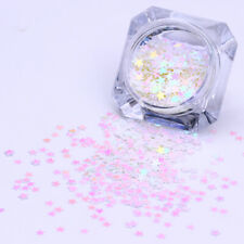 1.5g/Box Nail Glitter Sequins Colorful Star Patterns Nail Decoration Design 3mm